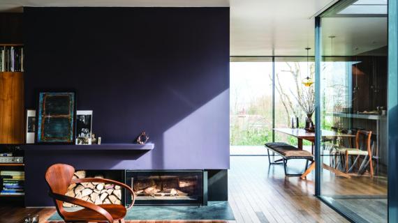 Cách phối màu sơn cho phòng khách đẹp