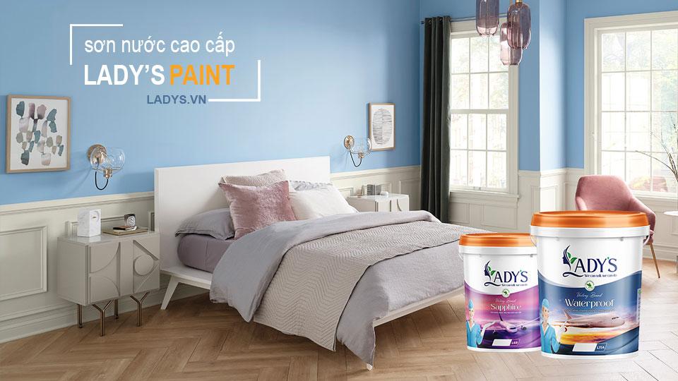 Sơn nhà nên dùng loại sơn nào? - Lady's Paint