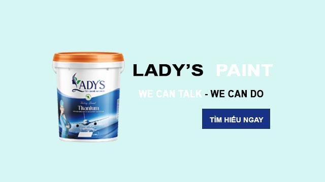 Lady's Paint - Sơn cao cấp công nghệ Đức 1