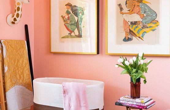 Sơn nhà màu san hô đẹp – Phong cách cá tính ai nhìn cũng mê - Lady's Paint
