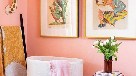 Sơn nhà màu san hô đẹp – Phong cách cá tính ai nhìn cũng mê