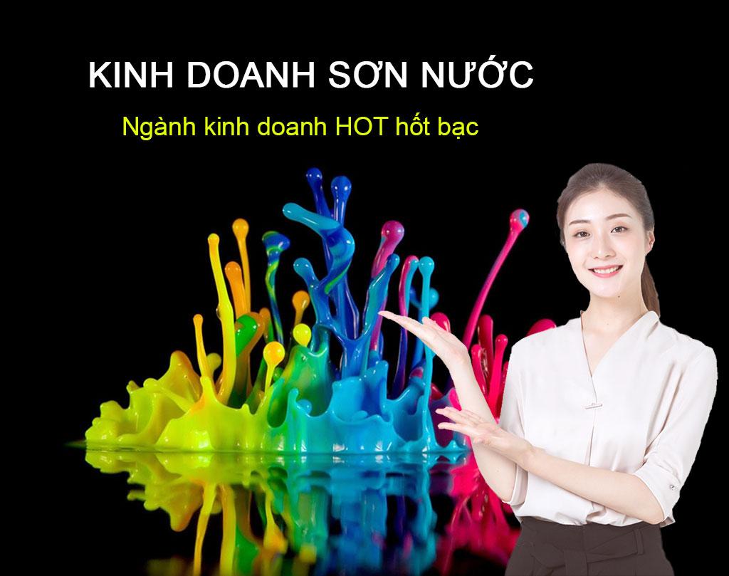 Ý tưởng kinh doanh với vốn 200 triệu - Lady's Paint
